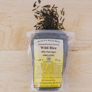 Rusty's Wild Rice Certified Organic Wild Rice - Bulk- Priced per Lb
