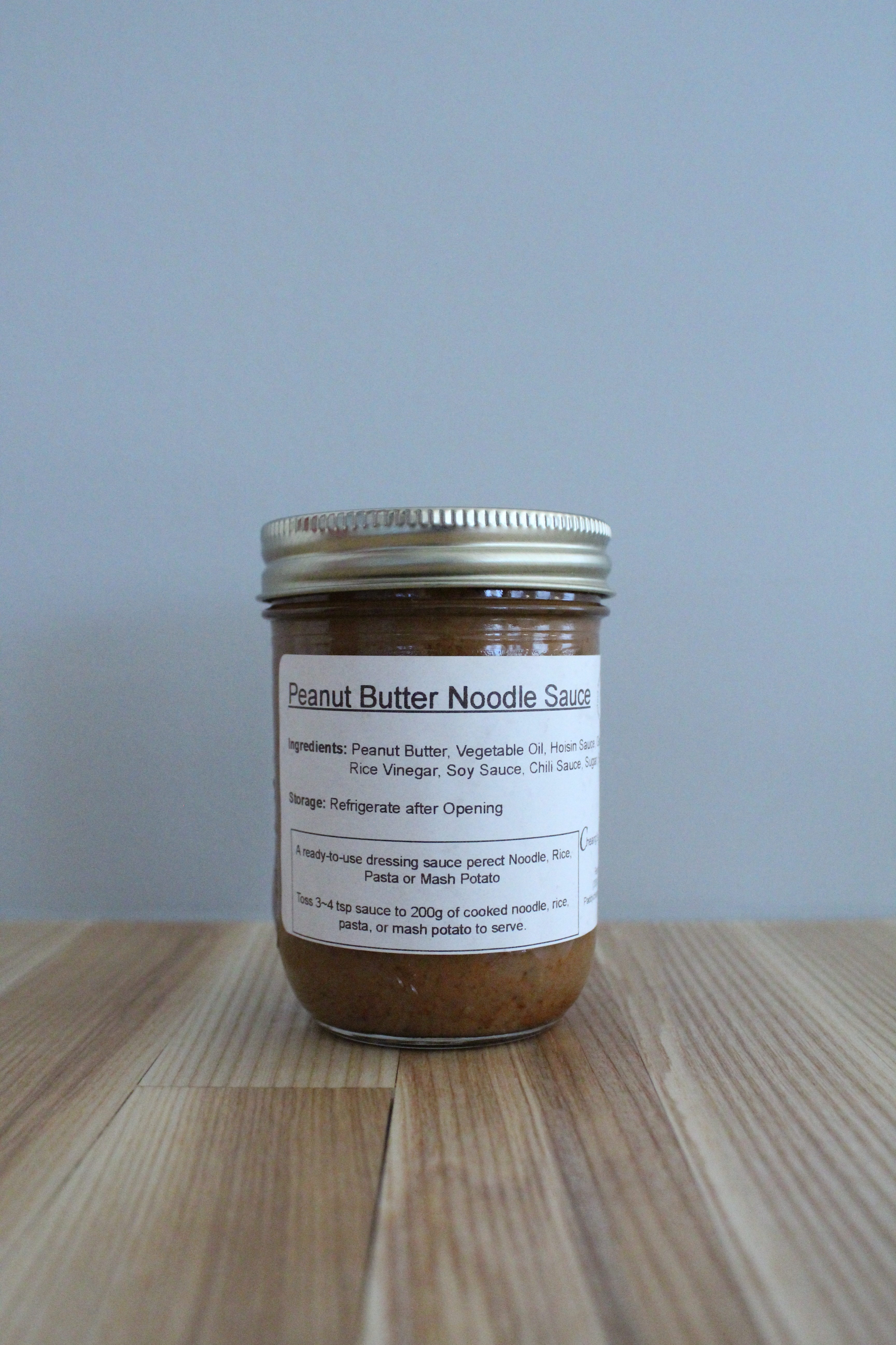 Cheang's Sinofood - Peanut Butter Noodle Sauce (250ml)