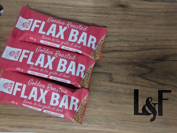 Golden Roasted Flax Bar (40g)