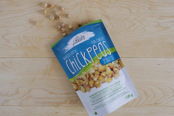 Roasted Chickpeas - Sea Salt and Lime - 120g