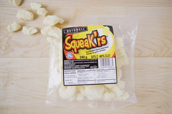 "Bothwell ""Squeak'rs"" Cheese Curds (255g)"