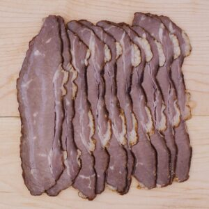 "Beef, Deli Brisket ""Bacon"" (frozen) - Pine View Farms"